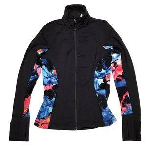 Athleta XXS Hope Jacket Navy Blue Super Impose Ath